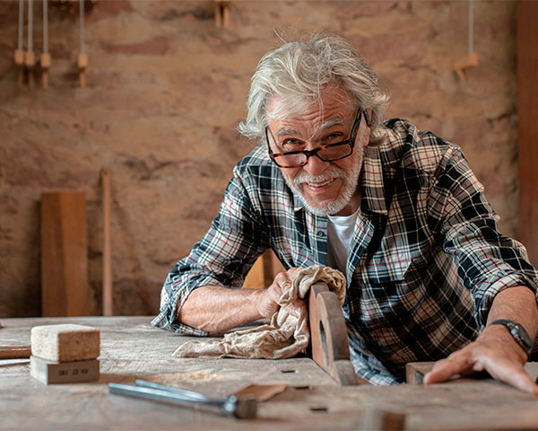 Woodworking Shop at Trico Living Well