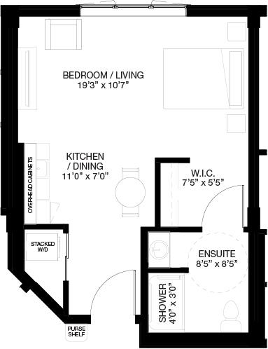 531 SF STUDIO_(Assisted Living Dementia Care)