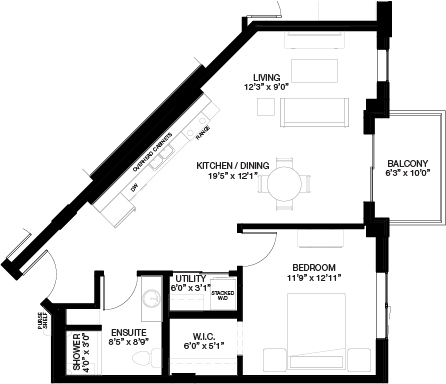 743 SF 1 BEDROOM_(Independent Living)
