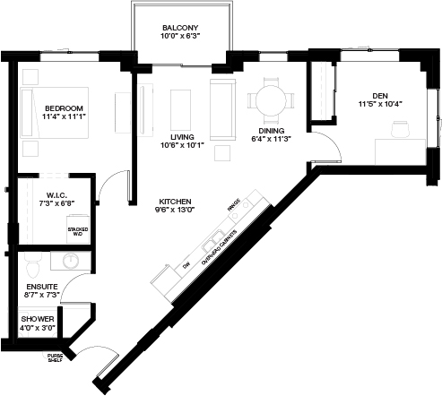 841 SF 1 BEDROOM WITH DEN_(Independent Living)