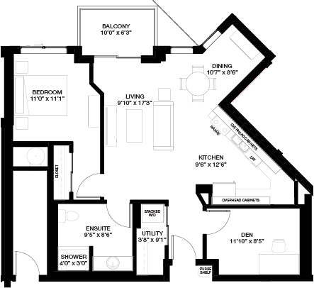 882 SF 1 BEDROOM WITH DEN_(Independent Living)
